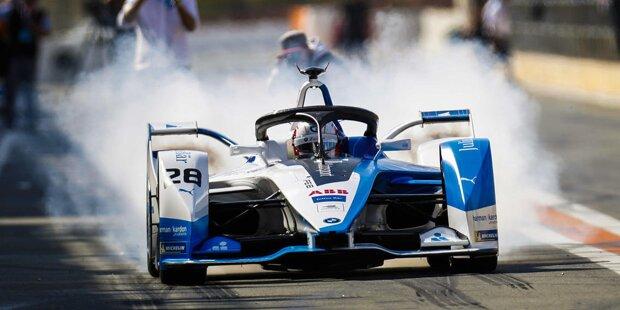 Die Formel-E-Testfahrten in Valencia bieten einen ersten Blick auf die neuen Fahrzeuge der Formel E. Das sind die zehn Teams mit dem neulackierten Gen2-Auto. Klick dich durch die Fotostrecke!