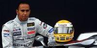 Der erste Formel-1-Test von Lewis Hamilton