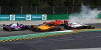 Monza-Kollision zwischen Vettel und Hamilton