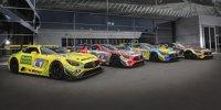 Die Mercedes bei den 24h Nürburgring 2018