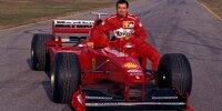 Rossi & Co: Motorrad-Stars im Formel-1-Auto
