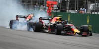 Unfall zwischen den Red-Bull-Piloten in Baku