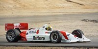 Als Ayrton Senna ein IndyCar testete