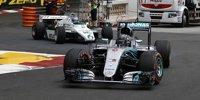 Keke und Nico Rosberg in ihren WM-Autos