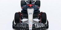 Alle Formel-1-Autos von Toro Rosso