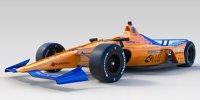 Indy 500 2019: Der McLaren-Bolide von Fernando Alonso