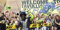 Valentino Rossi: Mit der Yamaha M1 durch Tavullia