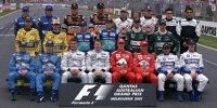 Highlights der Formel-1-Fahrerfotos
