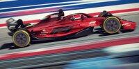 Das neue Formel-1-Auto 2021