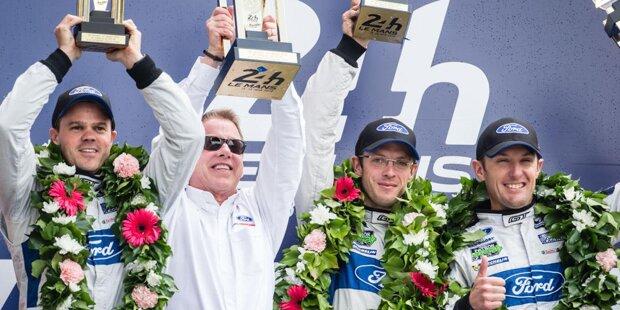 """Dirk Müller: """"Eindeutig die Auslaufrunde in Le Mans 2016. Es war unser größter Sieg in den vier Jahren. Wir standen in jener ersten Saison enorm unter Druck. Nach dem Sieg wurden viele Freudentränen im Verborgenen vergossen. Ich konnte über Funk hören, wie die Jungs vor Glück geweint haben."""""""
