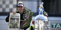 So feiert Indy-500-Sieger Simon Pagenaud