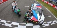 MotoGP-Pilot Franco Morbidelli testet DTM-BMW von Bruno Spengler
