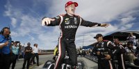 IndyCar-Meisterfeier: Josef Newgarden kämpft mit den Tränen