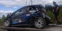 Der WRC-Testunfall von Hayden Paddon in Finnland