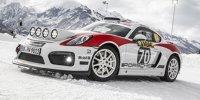 Präsentation des Porsche Cayman GT4 Rallye