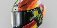 Mugello-Helmdesign von Valentino Rossi 2019