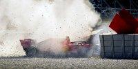 Der Testunfall von Sebastian Vettel
