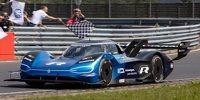 Rekordfahrt des Volkswagen ID.R auf der Nürburgring-Nordschleife