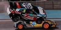 WRX Abu Dhabi: Spektakulärer Crash - Nitiss steigt Marklund auf's Dach