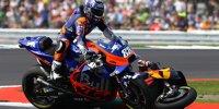 KTM-Crash: Zarco schießt Oliveira in Silverstone ab
