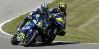 MotoGP Jerez 2005: Rossi rempelt Gibernau in der letzten Kurve weg