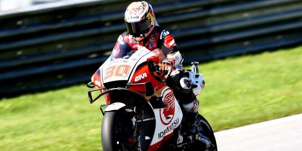 Takaaki Nakagami wird am 9. Februar 1992 in Chiba (Japan) geboren. Nach langen Jahren Durststrecke ist er der große Hoffnungsträger der japanischen MotoGP-Fans. Honda unterstützt Nakagami seit vielen Jahren.