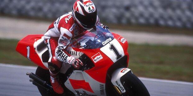 Kenny Roberts: 500er-Weltmeister mit Yamaha in den Jahren 1978, 1979, 1980