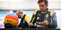 Fernando Alonso testet den Renault R.S.20