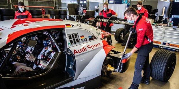 Die offensichtlichste Änderung für die DTM-Saison 2020: das von Audi entwickelte High-Yaw-Lift-Off-System - kurz HYLO. Es soll dafür sorgen, dass die Boliden bei einem Dreher nicht abheben. Dabei handelt es sich um ein Kohlefaser-Einheitsbauteil, das an den Oberkanten der zwei Heckflügelstützen angebracht wird.