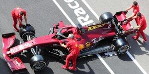 In Bildern: Das Retro-Design von Ferrari in Mugello