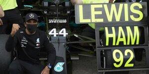 92. Sieg: So verneigt sich die Formel 1 vor Lewis Hamilton