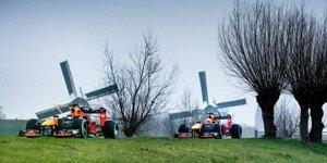 Backstage: Red-Bull-Filmtag in den Niederlanden mit Verstappen