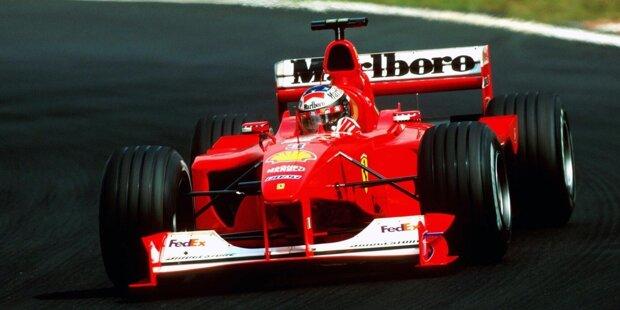 Der Start in die Formel-1-Saison 2000. 20 Jahre danach werfen wir einen Blick zurück auf Fahrer und Teams. Hier sind die Bilder von damals!