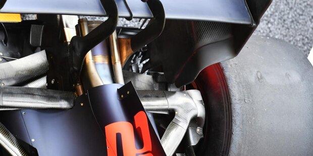McLaren MCL35: Frontflügel