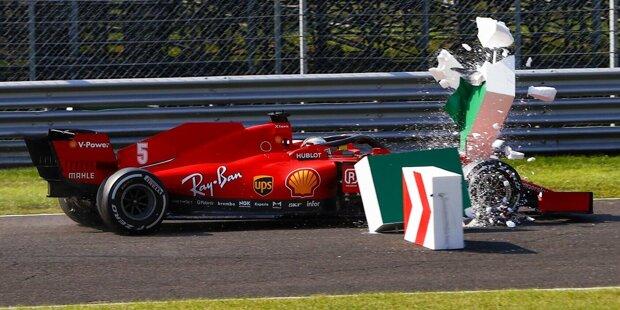 Charles Leclerc (5): Der Unfall des Monegassen als Sinnbild für das schlechteste Ferrari-Ergebnis in Monza seit 1995. Ja, der SF1000 ist schwer zu fahren. Trotzdem hat Leclerc die Schuld für den Unfall auf sich genommen. Das ehrt ihn, lässt für uns aber keine andere Note als eine 5 zu.