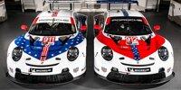 Das Porsche-Sonderdesign zum Abschied aus der IMSA
