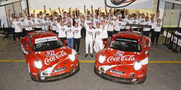 """Fritz Enzinger, Leiter Porsche Motorsport: """"Angesichts der aktuellen Unternehmenslage im Zusammenhang mit der Corona-Pandemie ist es aber nur konsequent, dass auch Porsche Motorsport einen Beitrag leistet, um die wirtschaftlichen Folgen zu bewältigen. Wir haben den Ausstieg mit allen Betroffenen offen besprochen."""""""