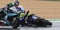 Le Mans: Valentino Rossi stürzt kurz nach dem Start
