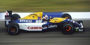 Williams FW14B: Dieser Bolide gehört jetzt Sebastian Vettel