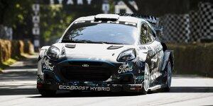 Der neue Ford Puma Rally1 für die WRC-Saison 2022