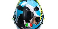 Mugello 2021: Das spezielle Helmdesign von Valentino Rossi
