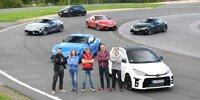 Renn-Action mit AUTO BILD und Toyota Gazoo Racing