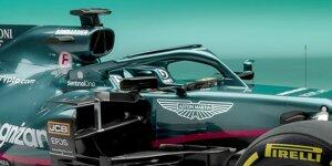 Formel-1-Technik: Die wichtigsten Neuerungen am Aston Martin AMR21