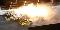 Daytona 500 2021: Feuerunfall in der Schlussrunde