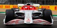Das Formel-1-Auto 2022 in Bildern