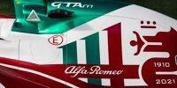 Formel 1 Monza 2021: Sonderdesigns von Alfa Romeo und Aston Martin