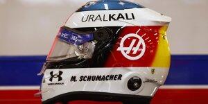 In Bildern: Mick Schumachers Helmdesign-Hommage an Papa Michael