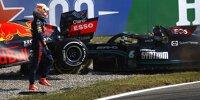Bild für Bild: Der Unfall von Verstappen und Hamilton in Monza