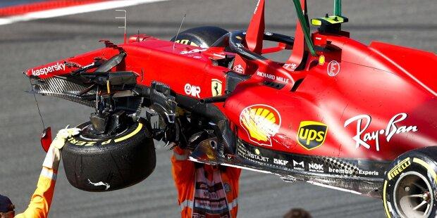 """Nikita Masepin (6): Im Training immerhin schneller als Teamkollege Schumacher, aber: Sowohl im Qualifying als auch im Rennen fiel er mit schrägen und gefährlichen Aktionen auf, die beide hätten böse enden können. Das geht gar nicht! Aufgrund der Häufung und der Vehemenz auf der Strecke greifen wir in diesem Fall zur """"Höchstnote""""!"""
