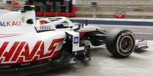 Erste Fahrbilder: Mick Schumacher im Haas VF-21